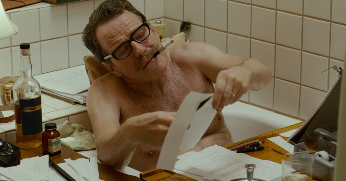 Escreva na banheira como Dalton Trumbo