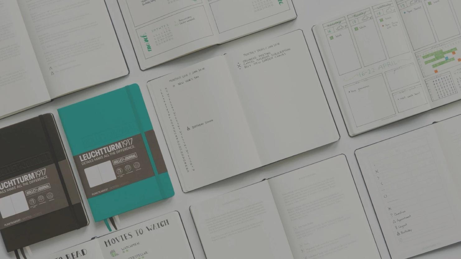 Bullet Journal para escritores – 1ª parte