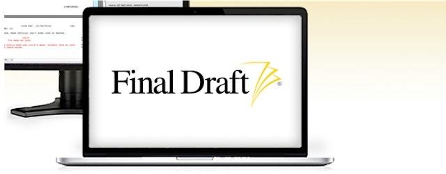 Final Draft lança nova versão