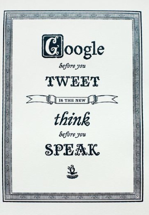 Googlar antes de tuitar