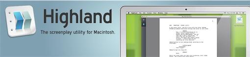 Escreva os seus guiões no novo editor de texto Highland