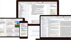 Programa de escrita Scrivener chega à versão 3.0