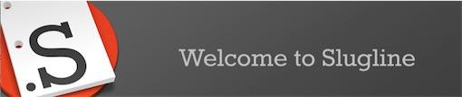 Slugline, um novo software para escrever um guião